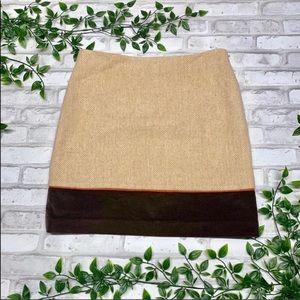 Vineyard Vines  Brown Skirt